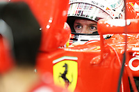 VETTEL sebastian (ger) ferrari sf15t ambiance portrait during 2015 Formula 1 FIA world championship, Bahrain Grand Prix, at Sakhir from April 16 to 19th. Photo Clément Marin / DPPI