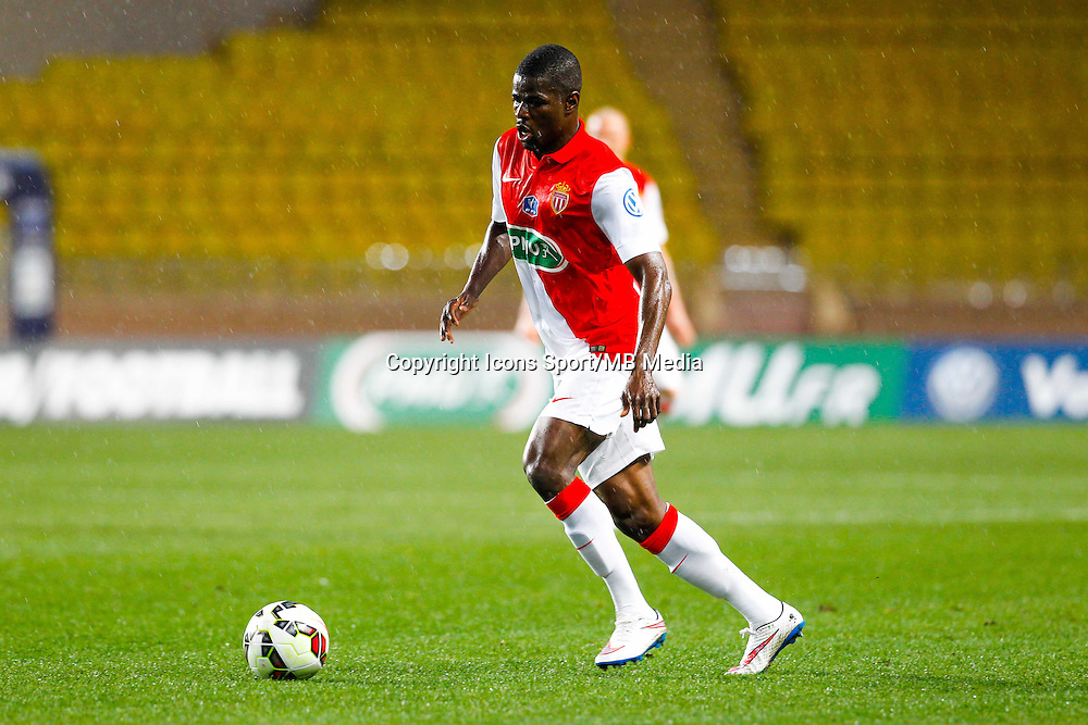 Uwa Echiejile Elderson  - 21.01.2015 - Monaco / Evian Thonon   - Coupe de France 2014/2015<br /> Photo : Sebastien Nogier / Icon Sport