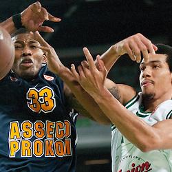 20111101: SLO, Basketball - Euroleague, KK Union Olimpija vs Asseco Prokom