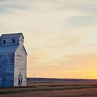 old grain elevator eastern montana, wheat silo montana conservation photography - montana wild prairie