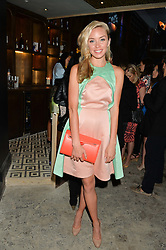 NOELLE RENO at the Grand opening of Library - a new members club at 112 St Martin's Lane, London on 25th June 2014.
