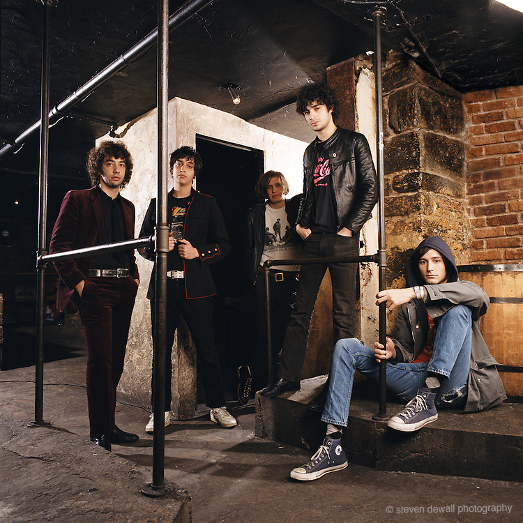 The Strokes in New York City 2005
