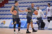 Chris Wright, Mirza Alibegovic<br /> Vanoli Cremona - Fiat Auxilium Torino<br /> Lega Basket Serie A 2016/2017<br /> Cremona, 12/02/2017<br /> Foto Ciamillo-Castoria
