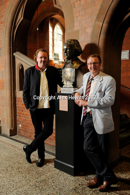 Former RSNO Music Director Stéphane Denève's is immortalised in bronze by Alexander Stoddart. Unveiled at the Scottish National Portrait Gallery, Edinburgh.Stéphane Denève, one of the outstanding figures of the Royal Scottish National Orchestra's (RSNO) recent history, departs following seven successful years as Music Director. Now gallery visitors as well as concert attenders will be reminded of his legacy, with the recent creation and subsequent display of a bronze bust, crafted by one of Scotland's leading sculptors..Key supporters of the Orchestra joined together, commissioning Sculptor in Ordinary to The Queen in Scotland Alexander Stoddart to produce a bronze bust of the French conductor, which will be unveiled by Stéphane and Alexander at the Scottish National Portrait Gallery on Tuesday 26 June at 11.00am. In the Year of Creative Scotland, the sculpture will be on display at the gallery until the end of September. It will then be relocated to the Usher Hall, Edinburgh, in time for the opening concert of the Orchestra's 2012:13 Season, Peter Oundjian's first as new RSNO Music Director. Stéphane Denève's likeness will be housed at a prominent position at the Orchestra's Edinburgh home and will join the company of busts of composer Ludwig van Beethoven, soprano Kathleen Ferrier and philanthropist Andrew Usher, already on display at the venue..Stéphane Denève was required to sit for Alexander on five occasions for up to two hours at a time at Stoddart's Paisley studio, in order to create the clay mould from which the cast could be made. Casting was undertaken by the Black Isle Bronze Foundry in Nairn. Other recent projects of Alexander's include a large scheme of statuary for a civic site in Atlanta, GA, USA and an important Scottish project, the Adam Smith Monument for Edinburgh's High Street...Contact: Tess Campbell; 0141 225 3583; 07967 036488; Tess.Campbell@rsno.org.uk