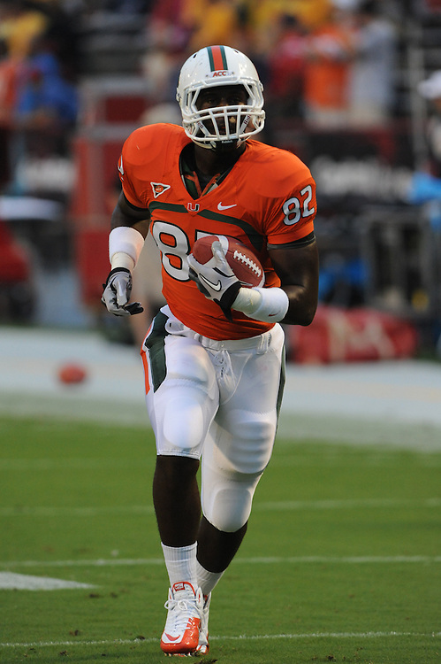 2011 Miami Hurricanes Football @ Maryland<br /> <br /> Asante Cleveland