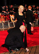 19.OCTOBER.2010. LONDON<br /> <br /> BRUCE WILLIS AND HELLEN MIRREN ATTEND THE RED FILM PREMIER HELD AT THE ROYAL FESTIVAL HALL IN LONDON .<br /> <br /> BYLINE: EDBIMAGEARCHIVE.COM<br /> <br /> *THIS IMAGE IS STRICTLY FOR UK NEWSPAPERS AND MAGAZINES ONLY*<br /> *FOR WORLD WIDE SALES AND WEB USE PLEASE CONTACT EDBIMAGEARCHIVE - 0208 954 5968*