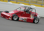 05 MAY 2007: Paul White (99) of Mucci-Matczak Racing practices in his Silver Crown car before the Casey's General Stores USAC Triple Crown at the Iowa Speedway in Newton, Iowa on May 5, 2007.