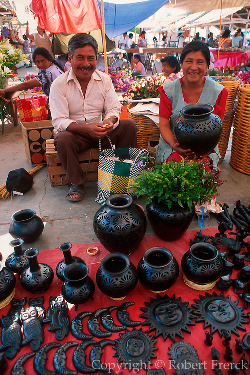 MEXICO, MARKETS Tlacolula; Zapotec Indian market