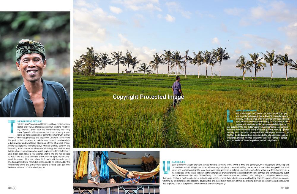 Lifestyle+Travel Magazine feature on Bali.