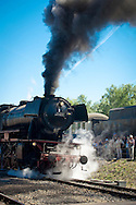 DEU, Germnay, Ruhr area, Bochum, railway museum in the district Dahlhausen, old steam locomotive...DEU, Deutschland, Ruhrgebiet, Eisenbahnmuseum im Stadtteil Dahlhausen, alte Dampflokomotive.