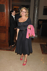 KAY SAATCHI at a party to celebrate the 180th Anniversary of The Spectator magazine, held at the Hyatt Regency London - The Churchill, 30 Portman Square, London on 7th May 2008.<br /><br />NON EXCLUSIVE - WORLD RIGHTS