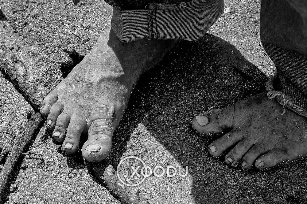 Feet, Airlie Beach, Australia (April 2003)