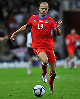 Photo: Tony Oudot/Richard Lane Photography.  England v Czech Republic. International match. 20/08/2008. <br /> Vaclav Sverkos of Czech Republic .