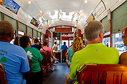 New Orleans streetcar, New Orleans, LA, USA