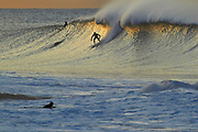 sunrise surfing at Winki