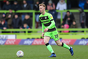 Forest Green Rovers Nathan McGinley(19) on the ball during the EFL Sky Bet League 2 match between Forest Green Rovers and Carlisle United at the New Lawn, Forest Green, United Kingdom on 16 March 2019.