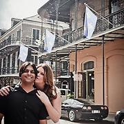 Priyesh & Jennifer - New Orleans Wedding Engagement Photo Session - French Quarter Jackson Square 2013   1216 STUDIO wedding photographers