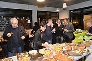Ciclismo compleanno dell' 80 anno di Nino Marconi, vecchio DS del Montecorona, Lavis 7 febbraio 2018 © foto Daniele Mosna
