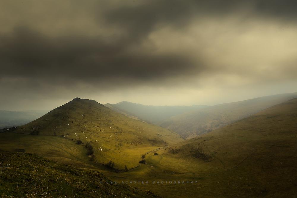Thorpe Cloud in the Peak District