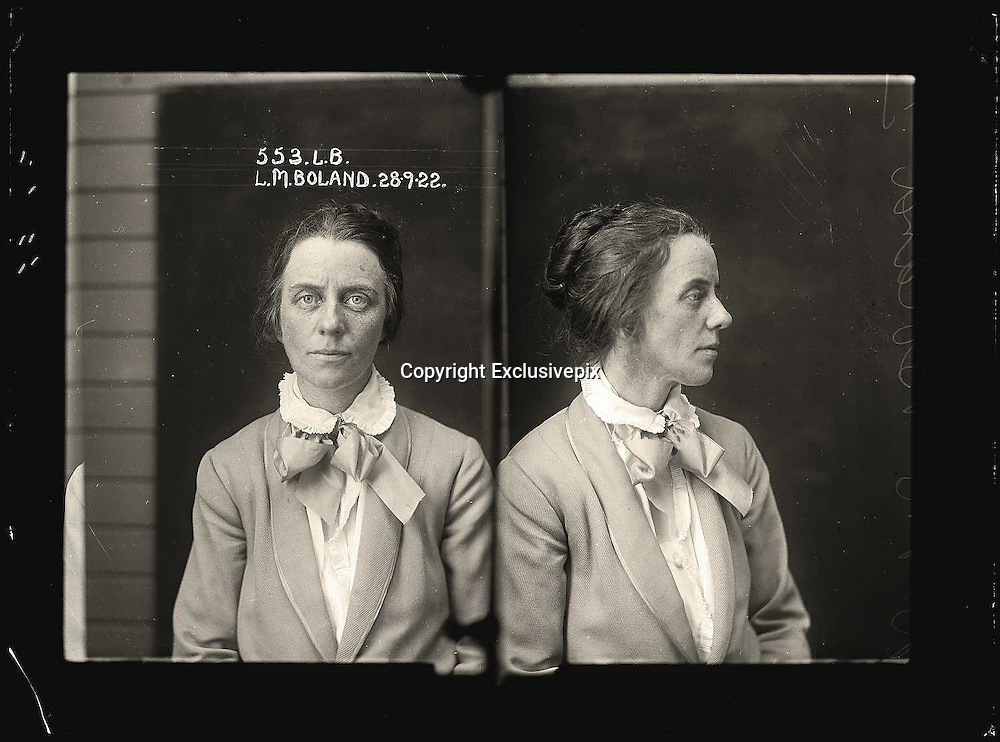 The barber shop slasher, the back-street abortionist and the 'parasite in a skirt': Vintage Australian mugshots reveal some of the country's earliest women criminals<br /> <br /> Haunting images of the past have emerged, showing vintage black and white portraits of Australian women.<br /> But these are no ordinary women. These are the not-so-innocent faces of convicted criminals who were put behind bars from the 1880s to 1930s.<br /> Among them include the infamous razor gangster and prominent madam of the times - Matilda 'Tilly' Devine.<br /> Others include backyard abortionists, drug dealers and those convicted of bigamy, drunkenness and theft.<br /> most of them were sent to the State Reformatory for Women, Long Bay - south of Sydney - which is now known as&nbsp;Long Bay Correctional Complex.<br /> <br /> <br /> Photo shows:  Lillian May Southwell Boland, criminal record number 553LB, 28 September 1922. State Reformatory for Women, Long Bay, NSW<br /> <br /> Convicted of conspiracy to procure an abortion. Lillian Boland worked as a secretary for an illegal abortionist who operated out of a dentist&rsquo;s surgery on Oxford Street, Paddington. Boland protested her innocence and ignorance of the 'doctor's' work; however, the court decided she must have had detailed knowledge of the business and handed her a suspended sentence of 12 months hard labour.<br /> &copy;NSW Police Gazette/Exclusivepix