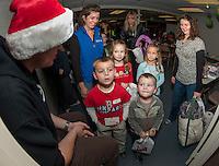 Opening night for 2013 Christmas Village at Laconia Community Center Thursday, December 5, 2013.  Karen Bobotas/for the Laconia Daily Sun