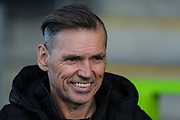 Forest Green Rovers Chairman Dale Vince during the EFL Sky Bet League 2 match between Forest Green Rovers and Mansfield Town at the New Lawn, Forest Green, United Kingdom on 19 October 2019.