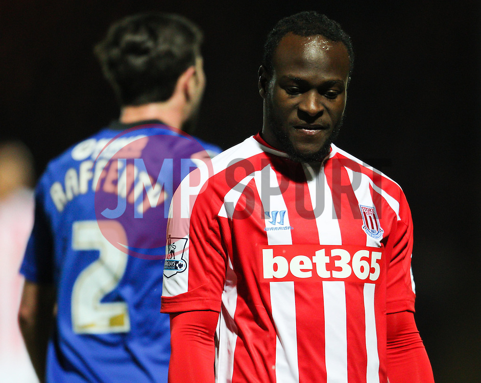 Stoke City's Victor Moses - Photo mandatory by-line: Matt McNulty/JMP - Mobile: 07966 386802 - 26/01/2015 - SPORT - Football - Rochdale - Spotland Stadium - Rochdale v Stoke City - FA Cup Fourth Round