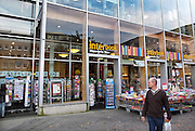 Duitsland, Trier, 21-10-2013Stad in de Eifel met rijke romeinse geschiedenis. Een filiaal, vestiging van de boekenketen interbook.consumenten,winkel,economie,bestedingen,besteden,economische,boekenverkoop,boekenmarkt,boekenwinkel,boekwinkelFoto: Flip Franssen/Hollandse Hoogte