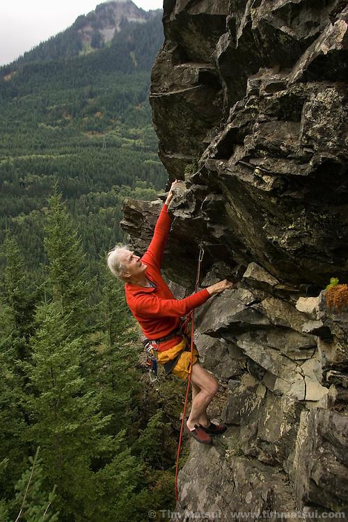Stimson Bullitt climbing at Exit 38 in Washington.