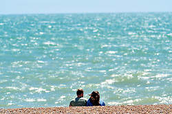 &copy; Licensed to London News Pictures. 17/07/2018<br /> Hastings, UK.<br /> Hot heatwave weather in Hastings on the seafront as people enjoy their day.<br /> Photo credit: Grant Falvey/LNP