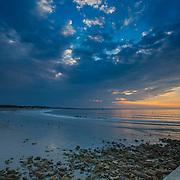 Today's  Summer Sunrise  at Narragansett Town Beach, Narragansett, RI,  June  25, 2013.