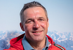 06.02.2019, Aare, SWE, FIS Weltmeisterschaften Ski Alpin, Pressekonferenz, im Bild Jürgen Kriechbaum (Sportlicher Leiter ÖSV Ski Alpin Damen) // Juergen Kriechbaum Austrian Ski Association head Coach alpine Ladies during a press conference for the FIS ski alpine world cup at the Aare, Sweden on 2019/02/06. EXPA Pictures © 2019, PhotoCredit: EXPA/ Johann Groder
