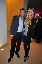 PETRA ECCLESTONE and JAMES STUNT at the St.Martins Lane Hotel 10th year bash held on 9th September 2009.