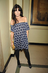 CLAUDIA WINKLEMAN at the 10th Anniversary Party of the Lavender Trust, Breast Cancer charity held at Claridge's, Brook Street, London on 1st May 2008.<br />