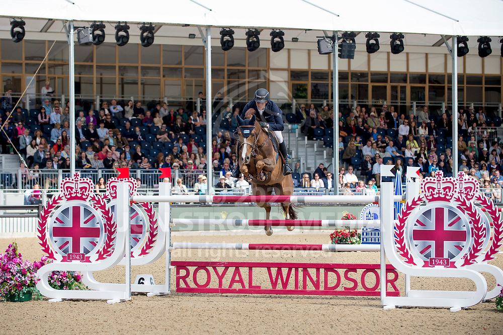 David Will (GER) & Cento Du Rouet - Rolex Grand Prix - CSI5* Jumping - Royal Windsor Horse Show - Home Park, Windsor, United Kingdom - 14 May 2017