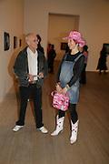 JOHN DUNBAR AND Silvia Ziranek , Dali and Film. Tate Modern. 30 May 2007.  -DO NOT ARCHIVE-© Copyright Photograph by Dafydd Jones. 248 Clapham Rd. London SW9 0PZ. Tel 0207 820 0771. www.dafjones.com.