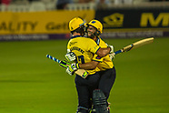 25 Aug 2017 - Surrey v Birmingham Bears in the NatWest T20Blast quarter final cricket match at the K