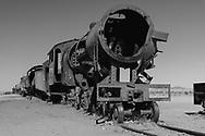 South America, Andes, Altiplano, Bolivia,  Uyuni, Train Cemetery