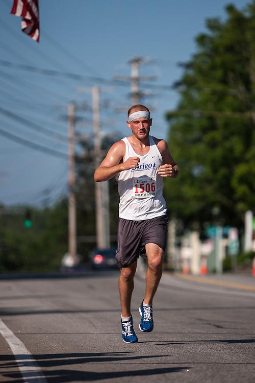 LL Bean 10K road race: Josh Zolla, runner-up