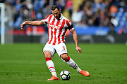 Stoke City defender Erik Pieters (3) during the Premier League match between Leicester City and Stoke City at the King Power Stadium, Leicester, England on 1 April 2017. Photo by Jon Hobley.