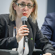 04 June 2015 - Belgium - Brussels - European Development Days - EDD - Jobs - Growing agriculture , growing jobs - The private sector on the spot - Celine , Charveriat , Director of Advocacy and Campaigns , Oxfam International © European Union