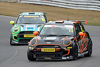#117 Jac MAYBIN Mini JCW  during MINI Challenge - JCW  as part of the MSVR MINI Festival at Oulton Park, Little Budworth, Cheshire, United Kingdom. July 21 2018. World Copyright Peter Taylor/PSP. Copy of publication required for printed pictures.
