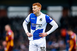 Rory Gaffney of Bristol Rovers looks on - Rogan/JMP - 20/01/2018 - FOOTBALL - Memorial Stadium - Bristol, England - Bristol Rovers v Bradford City - EFL Sky Bet League One.