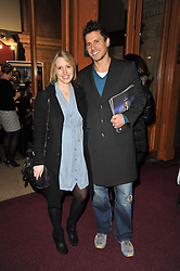 JEREMY EDWARDS and his wife LYDIA at the opening night of Totem by Cirque du Soleil held at The Royal Albert Hall, London on 5th January 2011.