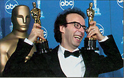 Roberto Benigni.  Academy Award winner.  Hollywood special event