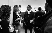 Council member David Grosso greets visitors before the Committee on Education open house at the John A. Wilson Building in Washington, DC. <br /> <br /> <br /> PHOTOS/John Nelson