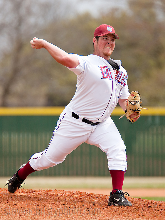 March 21, 2009: The St. Gregory's University Cavaliers play against the Oklahoma Christian University Eagles at Dobson Field on the campus of Oklahoma Christian University.