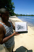 Orange Beach, Peleliu, Palau, Micronesia