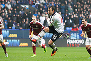Bolton Wanderers Adam Le Fondre (45) scores the penalty to equalise 1-1 during the EFL Sky Bet League 1 match between Bolton Wanderers and Northampton Town at the Macron Stadium, Bolton, England on 18 March 2017. Photo by Craig Galloway.