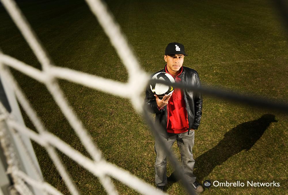 STOCKHOLM 080405<br /> I bild: Charlie Davies, Hammarby Fotboll